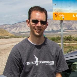 Photo of Jason Carlton at Utah Colorado Border
