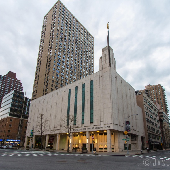 Photo of the Manhattan New York Temple