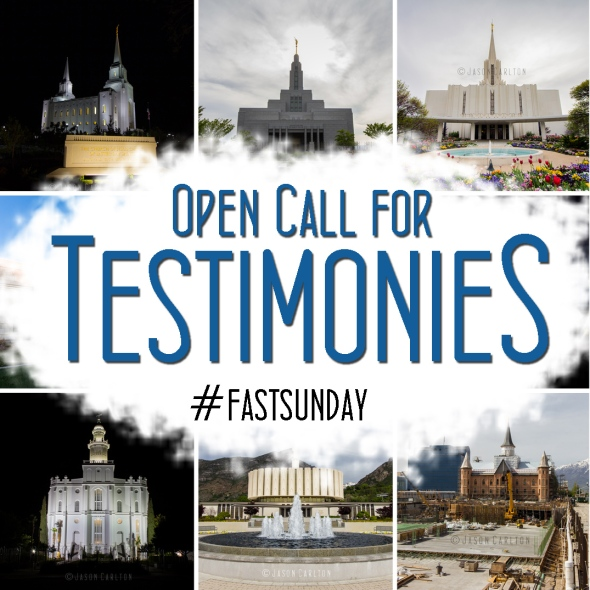 Open invitation for members of the LDS Church to share their testimony