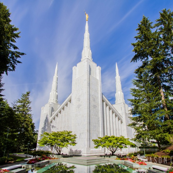 Photo of the Portland Oregon Temple